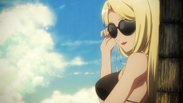 TVアニメ「三者三葉」第6話先行カット&あらすじが到着。海水浴の真の目的とは!?