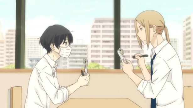 「田中くんはいつもけだるげ」第6話先行カットを公開。風邪をひいた田中くん……