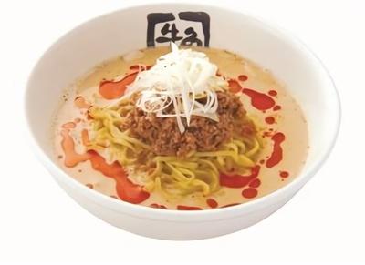 〆の一品として注目の、夏に嬉しい「冷やし坦々麺」(税抜690円)