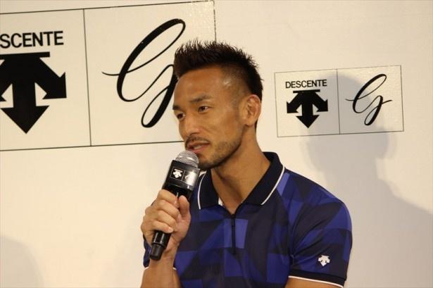 【写真を見る】中田氏は「個人スポーツの方が向いているのかな。自分1人で完結できる」とゴルフとの相性の良さを話す