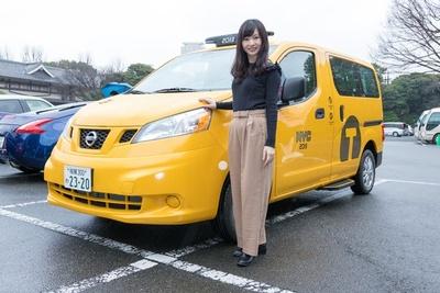 日本の街を走り始めて1周年を迎える日産自動車のNV200タクシー(写真はニューヨーク仕様)