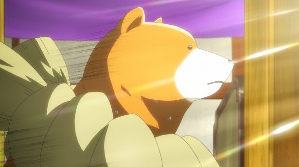 TVアニメ「くまみこ」第7話場面カット公開。まちが薪にこだわる理由とは!?