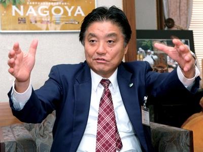 名古屋弁で名古屋の未来をアツく語る、名古屋市長・河村たかし氏