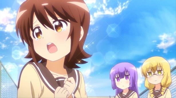 TVアニメ「三者三葉」第7話先行カット&あらすじが到着。食欲の秋で双葉の食欲は5割増!