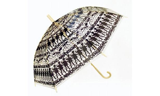 """""""エバーイオン""""を使用した環境に優しい傘(5880円/ミントデザインズ)"""