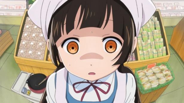 TVアニメ「くまみこ」第8話先行カット公開。ナツがアレンジメニューに挑戦!