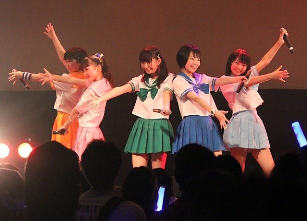 水戸ご当地アイドル(仮)が「水戸ご当地ちゃん!LIVE RUKAproduce ~Five Journey~」公演を開催