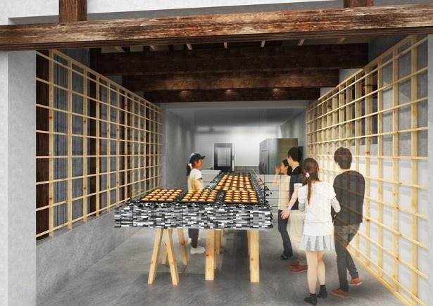 店舗は、建築家の関 裕介氏が古民家を活かしてデザイン(画像はイメージ)