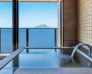 龍宮城ホテル三日月に新棟の富士見亭がオープン。オーシャンビューの客室からは、東京湾や富士山を一望できる