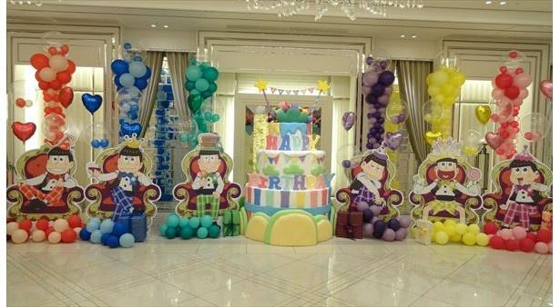 「おそ松さん」6つ子のバースデーパーティー開催。お誕生日REMIX PVも特別配信中!