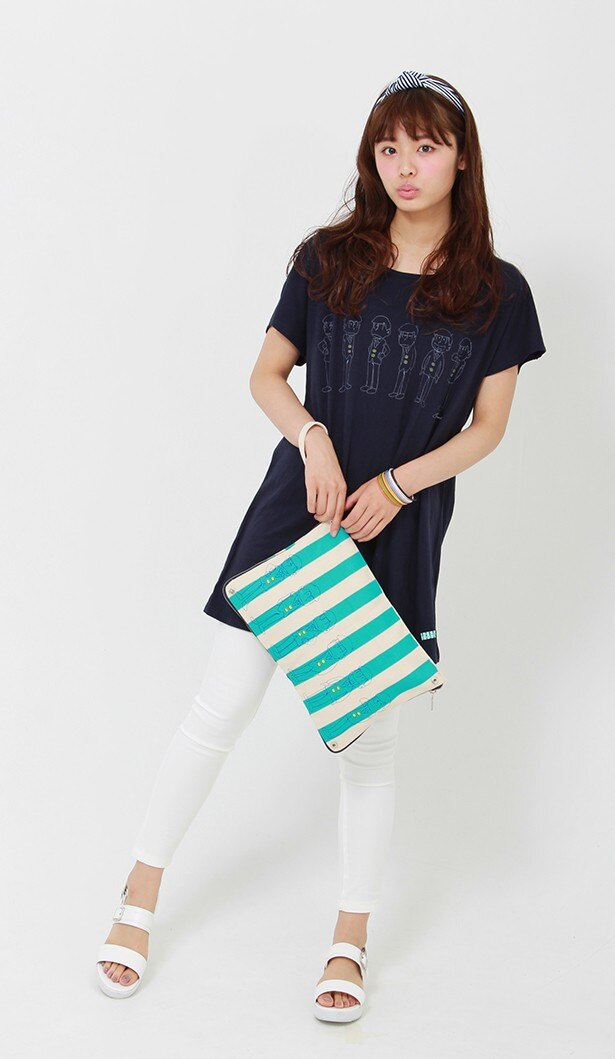 この夏は松ファッションで決まり!「おそ松さん」夏物コラボウェアが登場