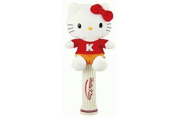 キティちゃんのぬいぐるみ付!ヘッドカバー(オープン価格4000円)