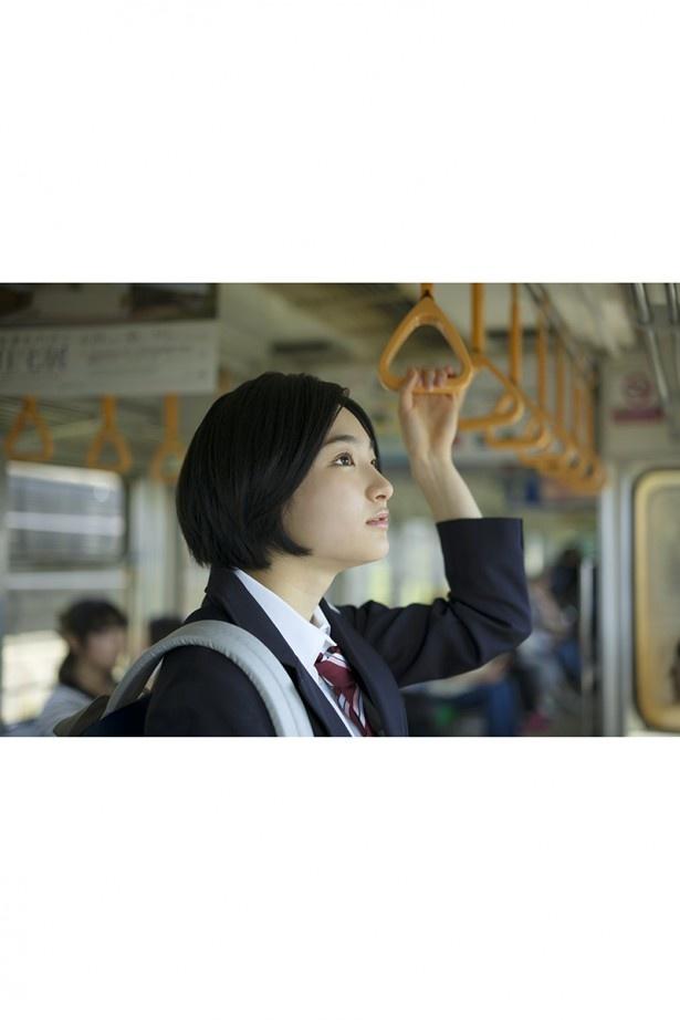 江ノ電車内での撮影も