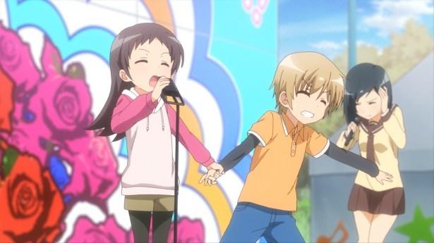 TVアニメ「三者三葉」第9話先行カット&あらすじが到着。一大イベント・学園祭が始まる♪