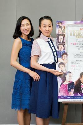 写真左から、人気のアイスショー『ザ・アイス』に出演する、浅田舞、真央姉妹