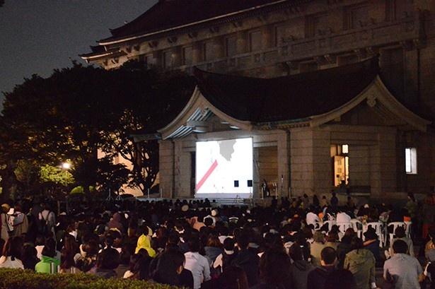 細田守監督「時をかける少女」劇場公開10周年記念企画。東京国立博物館で「野外シネマ」開催!