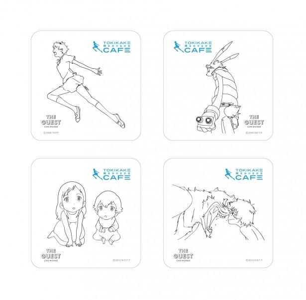細田守監督作品が勢ぞろい! 「時をかける少女カフェ」7月7日から期間限定オープン