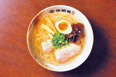 ラーメン次郎長の「函館塩」(¥730)