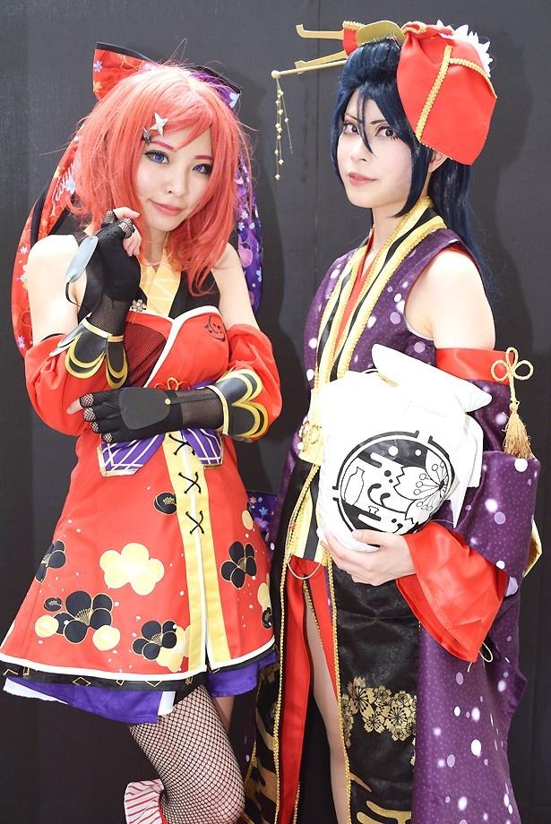 【写真20点】「ラブライブ!」×「刀剣乱舞」!? 作品の枠を超え、SAKAEコスフェスでコスプレ美女がコラボ!