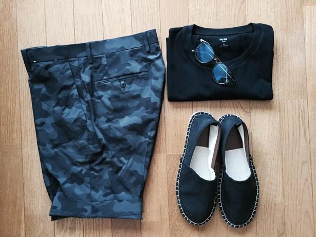 【恒例1万円コーデ講座】「ぼくの夏やすみ」にならない短パンTシャツ術