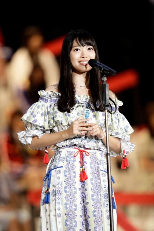 北原の「メンバーを幸せにしたい」という発言には、会場のNGT48メンバーたちも涙を流した