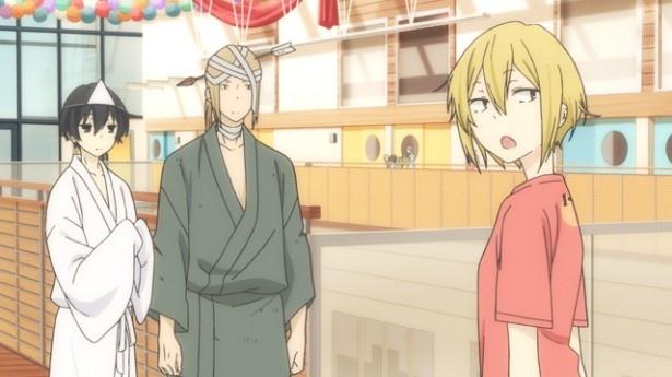 「田中くんはいつもけだるげ」第11話場面カットが到着。文化祭もやる気ゼロ?