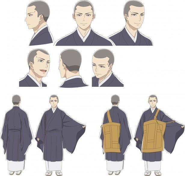 TVアニメ「うどんの国の金色毛鞠」は10月から放送。メインキャストは中村悠一と古城門志帆に決定