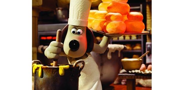 人気キャラクターのグルミットがパン作りに挑戦!