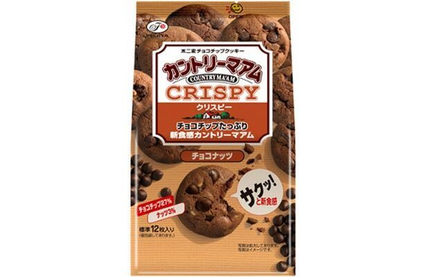同タイプのチョコナッツも発売