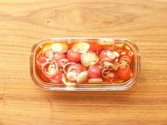 暑い夏にピッタリの作りおき「 トマトのおひたし」