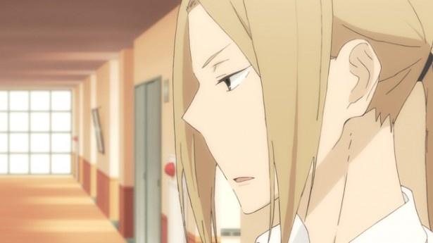 「田中くんはいつもけだるげ」第12話場面カットが到着。ついに最終話、快適な場所をキープしたい田中は…
