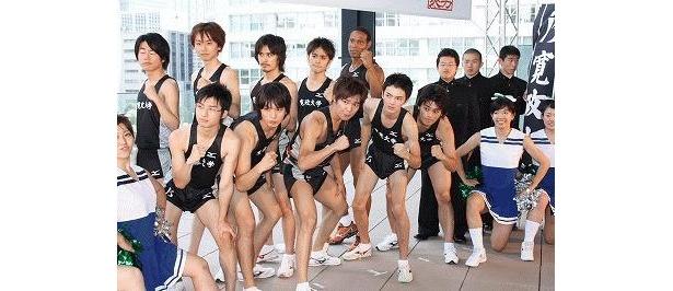 箱根駅伝を目指す若者たちの青春を描く本作では、小出恵介や林遣都ら若手俳優が競演!