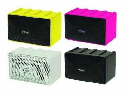 MP3やPCにつなげるだけで質の高い音楽が楽しめるスピーカーもゲットできる!