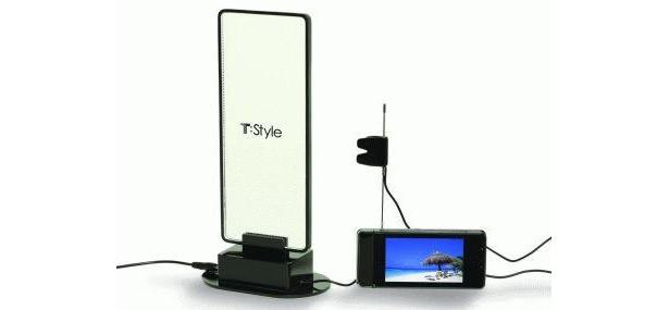 電波の届きにくい場所で活躍するワンセグアンテナは、USBに接続するだけの超便利アイテム