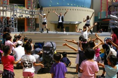 みんなで一緒に踊ろう!