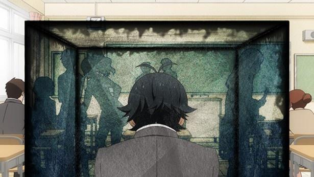 TVアニメ「はんだくん」第1話先行カットが到着。平成のネガティヴマスター半田に届いた1通の手紙とは…