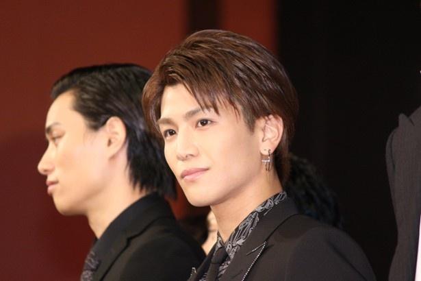 山王連合会リーダー・コブラを演じた岩田剛典