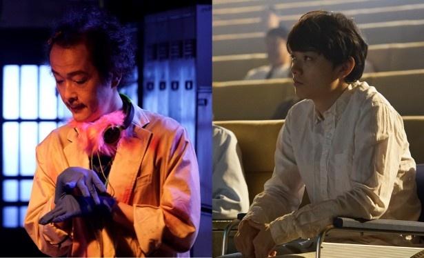 「CROW'S BLOOD」への出演が決まったリリー・フランキー、染谷将太(写真左から)