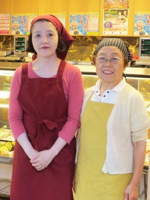 和惣菜が人気の「江古田市場通り商店街の大津屋」の母娘