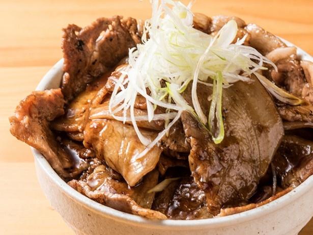 北海道のブランド豚を使用した激うま豚丼