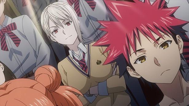 「食戟のソーマ 弐ノ皿」第2話先行カットが到着。恵とリョウのラーメン対決!