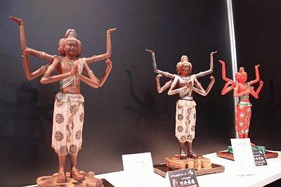 7月に東京ビックサイトで開催された「国際 雑貨 EXPO」でも展示されていた