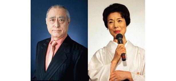 津川雅彦と富司純子が、声優に初トライしてハッスル!