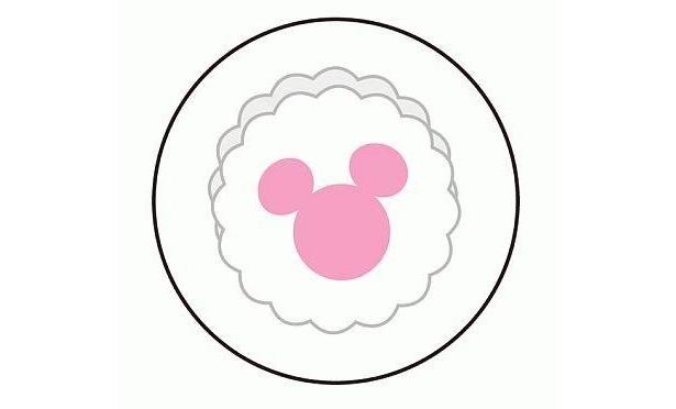 なると巻は切っても切っても、ピンク色のミッキーシルエットが!【ほか商品画像など】