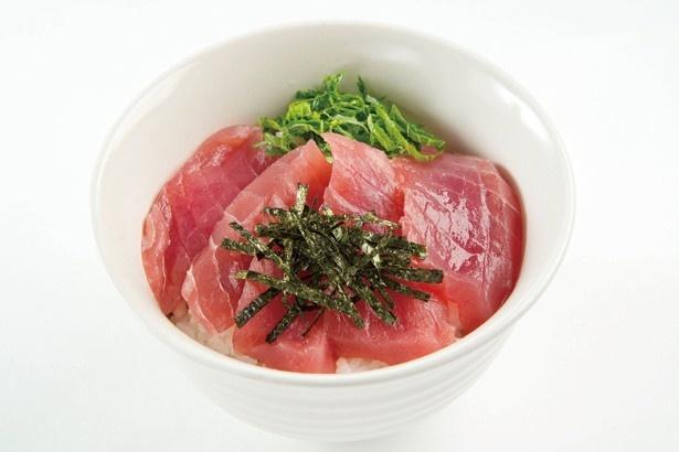 新鮮な三崎のマグロ丼にもスッキリ味がピッタリ!
