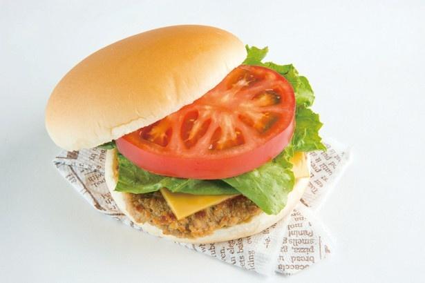 ハンバーガーにも、すっきりとした味わいが好相性