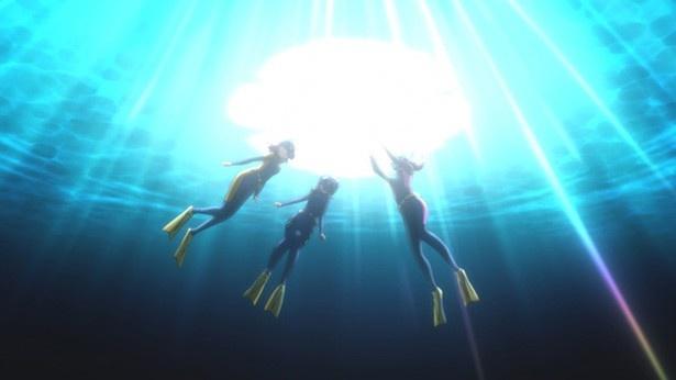 アニメ「ラブライブ!サンシャイン!!」第2話場面カットが到着。転校生をスカウト!