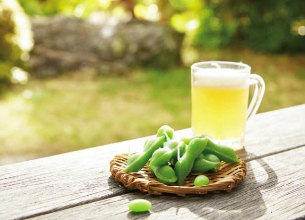 夏にはビールと枝豆! まるで本物のようなクオリティのキャンドル