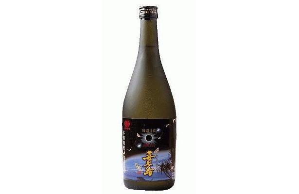 皆既日食記念 奄美黒糖焼酎喜界島(1365円)