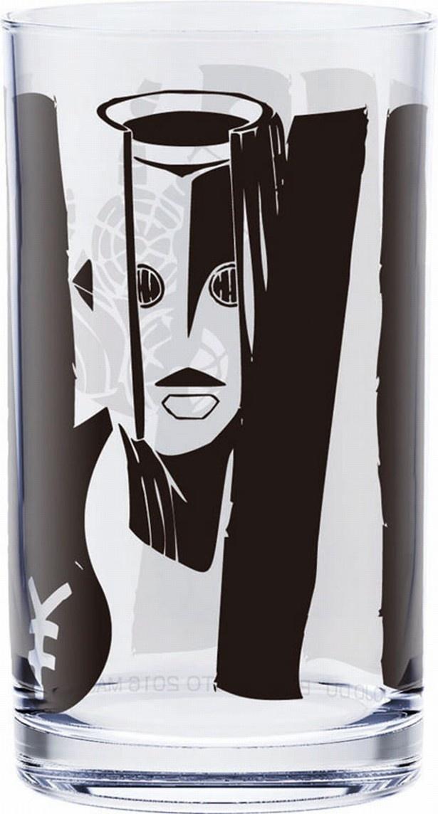 ザ・ハンドがデザインされたF賞の「スタンドグラス」